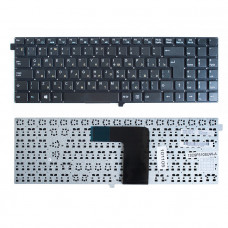 Клавиатура для ноутбука DNS DEXP W550 черная, без рамки, без топкейса (TopON)