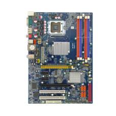 Материнская плата для ПК Onda 965PD, Socket LGA775, Intel P965, 4 x DDR2 DIMM, FSB 1066 МГц, SATA x5, ATX, Б/У