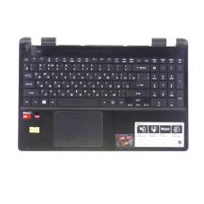 Верхняя часть корпуса AP154000901HA для ноутбука Acer E5-521 черная, Б/У, Есть дефекты