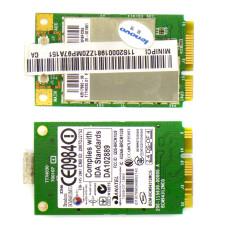 Беспроводной модуль W-iFi Broadcom BCM94312MCG mini PCI-E 2.4 ГГц 54 Мбит/с для ноутбука Lenovo G550, Б/У