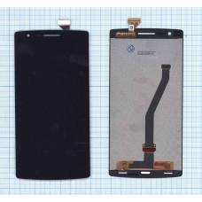Дисплей OnePlus One черный (Original)