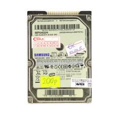 "Жесткий диск 2.5"" Samsung MP0402H, 40 Гб, IDE, 5400 об/мин, 8 Мб, Б/У"