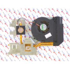 Вентилятор для HP 1502, Acer 7736 7736Z 7740 7740Z, MG55150V1-Q090-S99, 3pin, с радиатором, Б/У