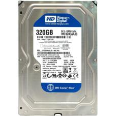 "Жесткий диск 3.5"" Western Digital WD1600AAJS, 160 Гб, SATA-II 3Gbit/s, 7200 об/мин, 8 Мб, Б/У"