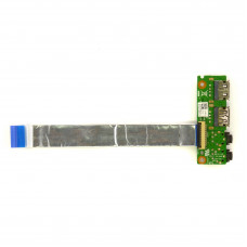 Плата 2xUSB MIC PHONE для Asus K53SK K53S, K53SD, K53SV Б/У, Дефекты