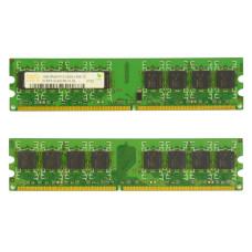 Память DIMM DDR2 Hynix 1 Гб, 667 МГц (PC2-5300) CL6 1.8V, Б/У