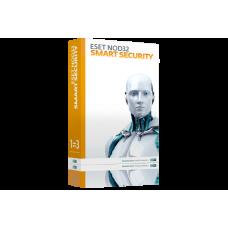 Антивирус ESET NOD32 Smart Security (продление лицензии, компьютер/ноутбук, кол-во устройств - 3, 12