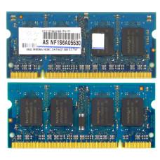 Память SODIMM DDR2 Nanya 512Mb, 667 МГц (PC2-5300)