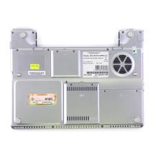 Нижняя часть корпуса 37RW1PD0003 для ноутбука IRU Stilo-3841W COMBO серебристая, Б/У